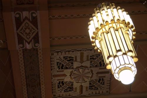 Omaha deco chandelier