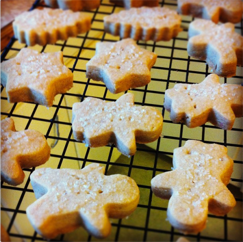 Cooling shortbread