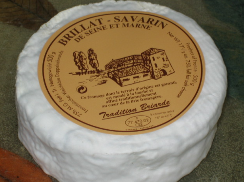 Brillat-Savarin triple cream