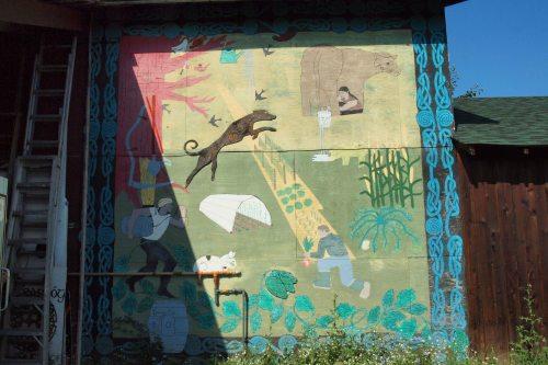 Crannog Mural