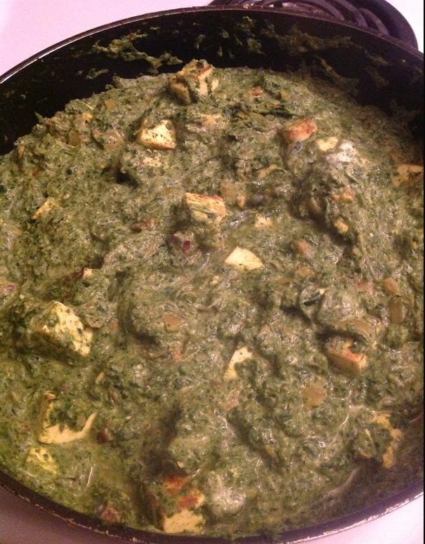 Making Saag Paneer with guest hostess Johanne Durocher | cheese and ...