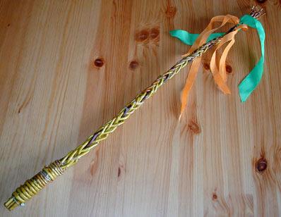 What a festive whip!