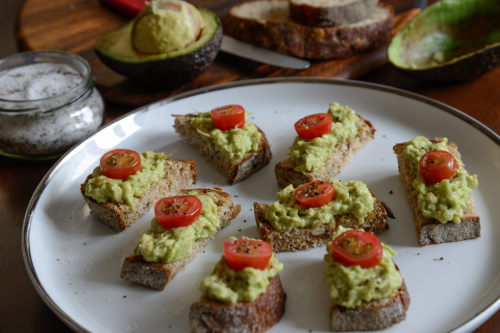 Avocado on Toast with Truffle Salt
