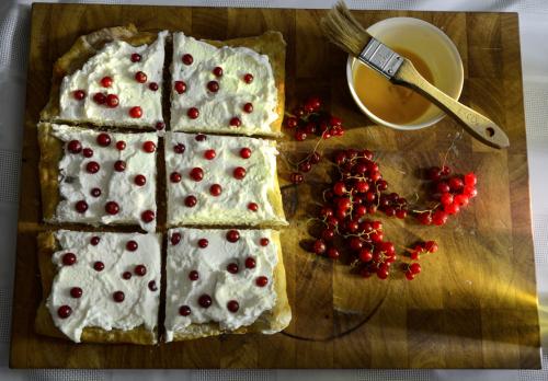 Berry Tart Whipped Cream